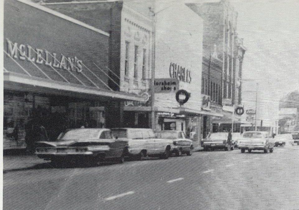 Harbor District Market: Building History